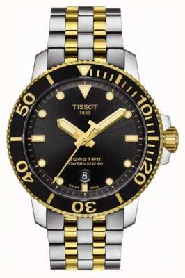Tissot Seastar 1000 powermatic 80 automatische two tone T1204072205100