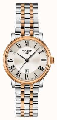 Tissot | Carson premium dame | tweekleurige armband | T1222102203301