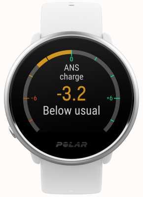 Polar | ontbranden | activiteit en hr tracker | witte siliconen | m / l | 90071067