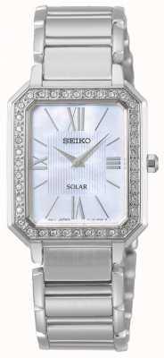 Seiko | conceptuele serie | klassiek | zonne | tweekleurige armband | SUP427P1
