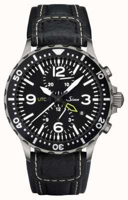 Sinn 757 utc het duo chronograaf horloge 757.011