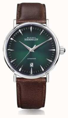 Michel Herbelin | mens | inspiratie | automatisch | groene wijzerplaat | 1647/AP16BR