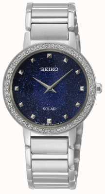 Seiko | conceptuele serie | dames zonne | kristal gezet SUP433P1