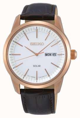 Seiko | conceptuele serie | mens | klassiek | zonne | SNE530P1