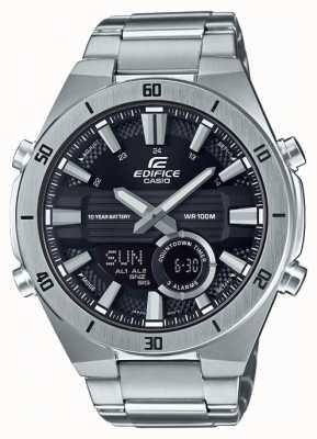 Casio | bouwwerk | heren | standaard chronograaf | zwarte wijzerplaat | ERA-110D-1AVEF