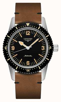 Longines | skin diver watch erfgoed | heren | Zwitserse automaat | L28224562