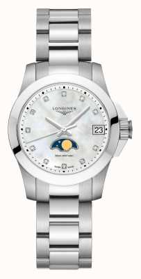Longines | verovering sport | dames | Zwitserse kwarts | L33804876