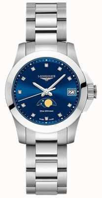 Longines | verovering sport | dames | Zwitserse kwarts | L33804976