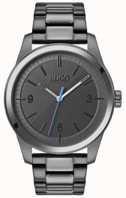 HUGO #create | grijze ip armband | grijze wijzerplaat 1530119