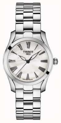 Tissot | t-wave | roestvrij stalen armband dames | parelmoer T1122101111300