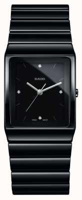 Rado Ceramica diamanten vierkante wijzerplaat keramische armband horloge R21700702