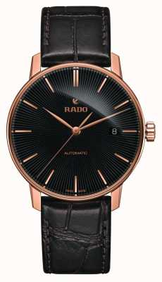 Rado Coupole klassiek automatisch bruin lederen armband horloge R22861165