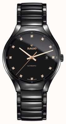 Rado Echt automatisch diamanten high-tech keramisch horloge met diamanten R27056732
