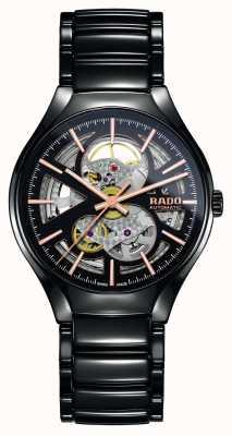 Rado Echt automatisch high-tech keramisch horloge met open hart R27100162