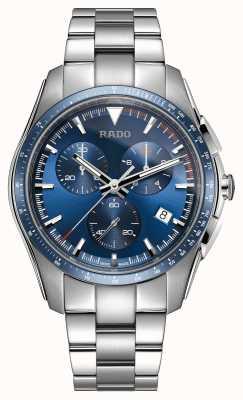 Rado Xxl hyperchrome chronograaf roestvrij stalen blauwe wijzerplaat R32259203