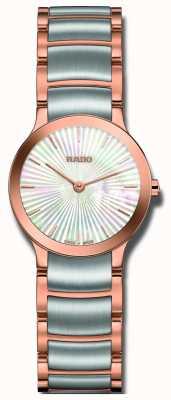 RADO Centrix tweekleurig roestvrijstalen parelhorloge R30186923