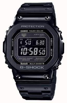 Casio | g-shock volledig metaal | zware zonne-energie | digitale wijzerplaat | zwart GMW-B5000GD-1ER