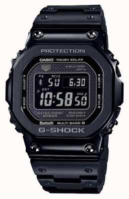 Casio | g-shock volledig metaal | taaie zonne | digitale wijzerplaat | zwart GMW-B5000GD-1ER