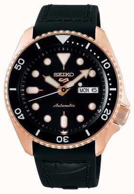 Seiko 5 sporten | specialist | automatisch | rose goud en zwart SRPD76K1