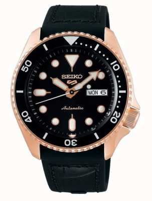 Seiko 5 sport | specialist | automatisch | rose goud en zwart SRPD76K1