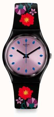 Swatch   originele heer   coquelicotte horloge   GB319