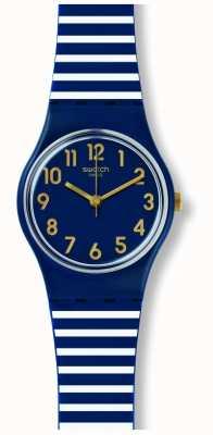 Swatch   originele dame   ora d'aria horloge   LN153