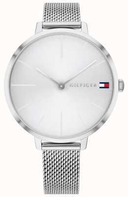 Tommy Hilfiger Project z | stalen mesh armband | zilveren wijzerplaat | 1782163