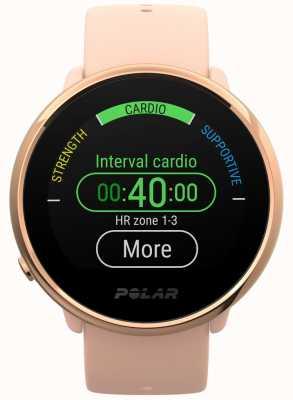 Polar | ontbranden | roze en roze fitnesshorloge | klein | roze rubber 90079898