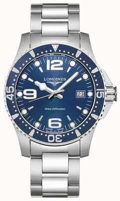 Longines Hydroconquest | 41 mm kast | blauwe wijzerplaat | duikhorloge L37404966