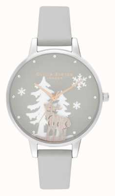 Olivia Burton | dames | winter wonderland | hert | vegan lederen band | OB16AW02