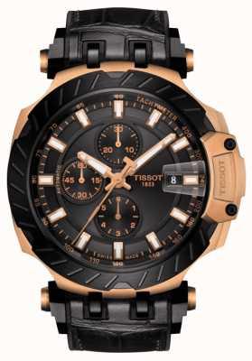 Tissot | t-race | automatische chronograaf | zwarte rubberen band | T1154273705101