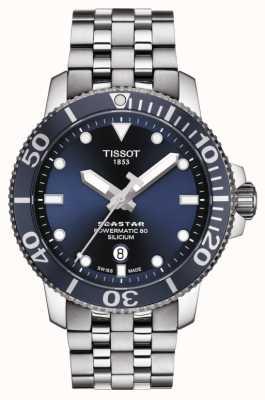 Tissot | seastar 1000 powermatic | roestvrij stalen armband | T1204071104101