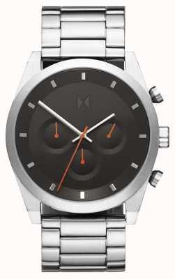 MVMT Element chrono | roestvrijstalen armband | grijze wijzerplaat | 28000046-D