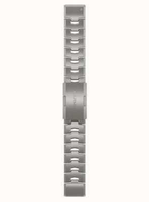Garmin Alleen Quickfit 22 horlogeband, geventileerde titanium armband 010-12863-08