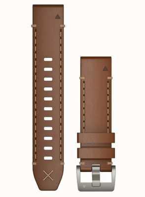 Garmin Alleen Quickfit 22 horlogeband, Italiaanse lederen horlogeband 010-12738-04