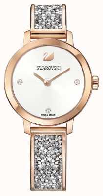 Swarovski | kosmische rots | rosé gouden armband armband | witte wijzerplaat | 5376092
