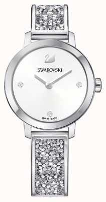 Swarovski | kosmische rots | roestvrij stalen armband armband | witte wijzerplaat 5376080