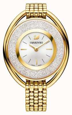 Swarovski Kristallijn | ovaal | gouden pvd armband | zilveren wijzerplaat 5200339