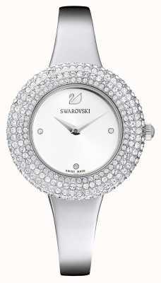 Swarovski | kristal roos | roestvrij stalen armband | witte wijzerplaat | 5483853