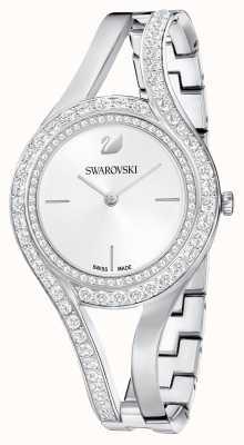 Swarovski | eeuwig | roestvrij stalen armband | kristal set | wit 5377545