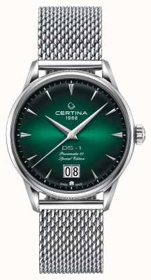 Certina DS-1 Special Edition Big Date | powermatic 80 | zilveren mesh C0294261109160