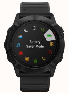 Garmin Fenix 6x pro | zwart siliconen | multisport smartwatch 010-02157-01