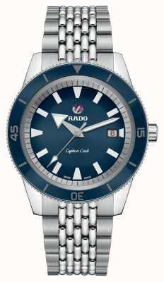 Rado XL 'Captain Cook' roestvrijstalen armband blauwe wijzerplaat R32505203