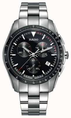 Rado XXL hyperchrome chronograaf roestvrij staal, zwarte wijzerplaat R32259153