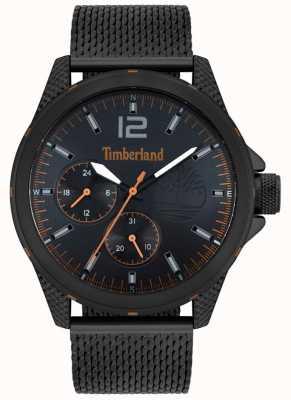 Timberland | heren taunton | zwarte mesh armband | zwarte wijzerplaat | 15944JYB/02MM