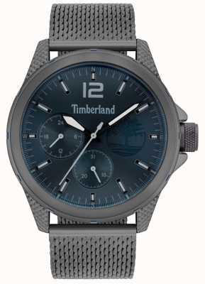 Timberland | heren taunton | armband in grijs metaalgrijs | marine wijzerplaat | 15944JYU/03MM