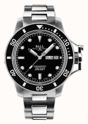 Ball Watch Company Ingenieur koolwaterstof voor heren | origineel | automatisch ex-display DM2118B-SCJ-BK EX-DISPLAY