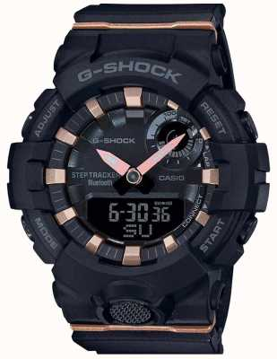 Casio | g-shock g-ploeg | zwarte rubberen band | bluetooth slim | GMA-B800-1AER