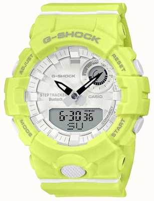 Casio G-shock g-ploeg | gele rubberen band | bluetooth slim | GMA-B800-9AER