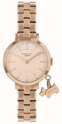 Radley Selby street rosé verguld horloge RY4398